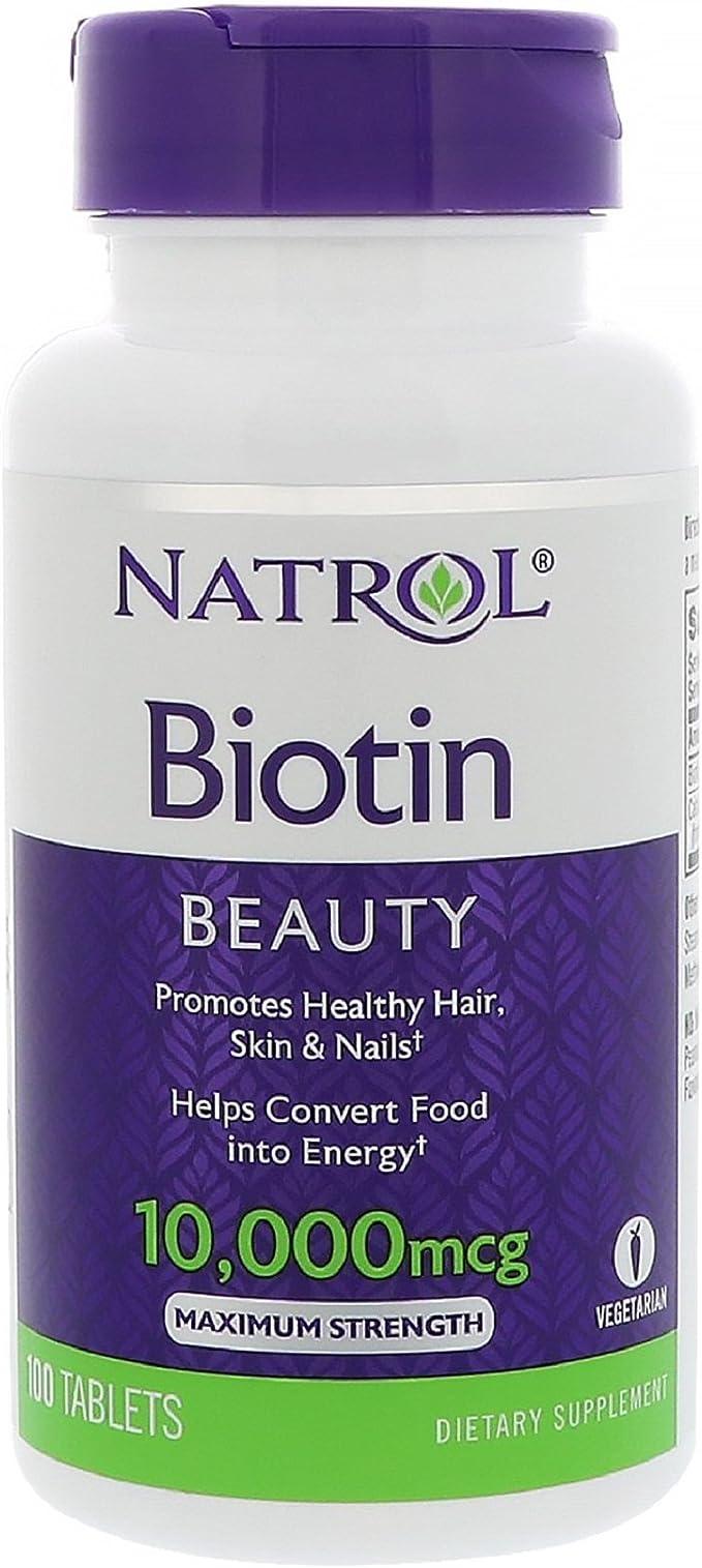 Natrol Biotin 8 mcg, 8 Count