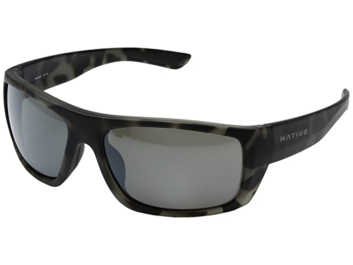 Native Eyewear Distiller (Matte Gray Tortoise) Sport Sunglasses
