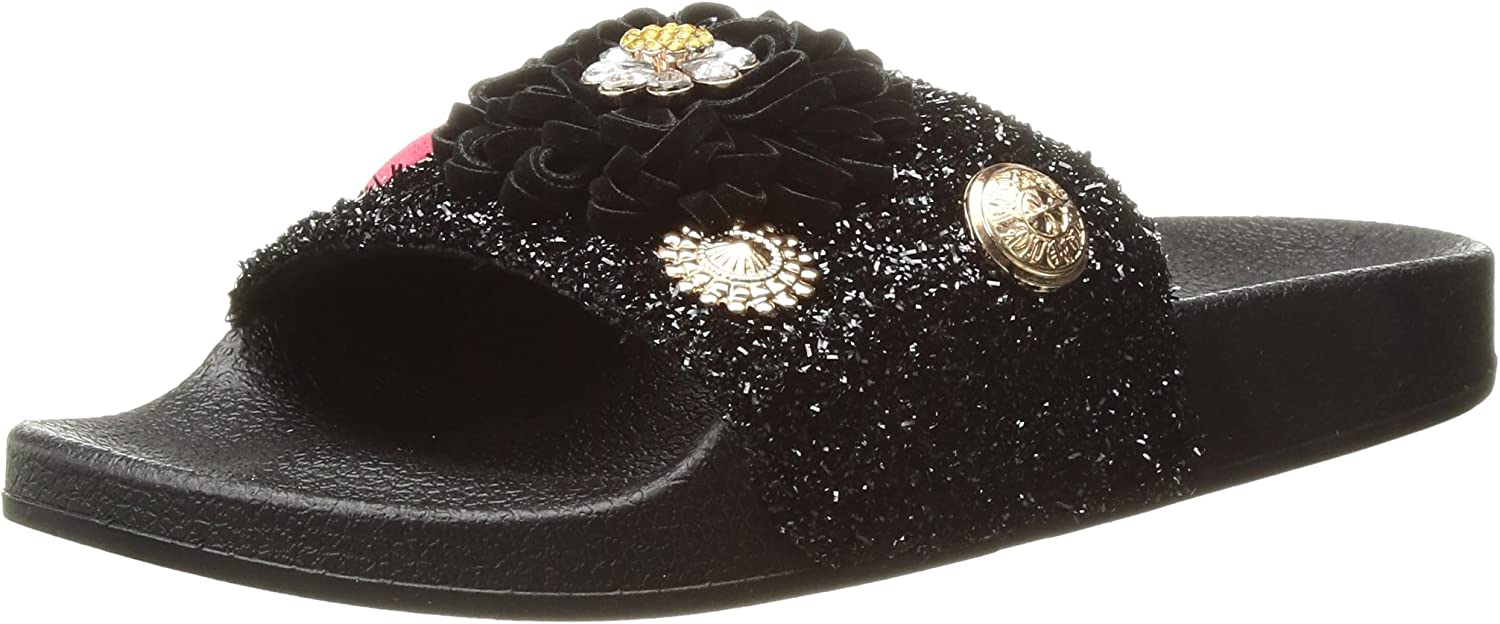 Betsey Johnson Womens Tori Slide Sandal
