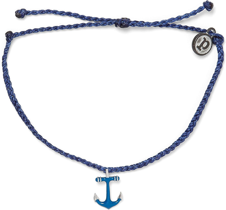 Pura Vida Gold Oklahoma City Mall or Silver Anchors Special Campaign Waterproof Bracelet Away Adj -