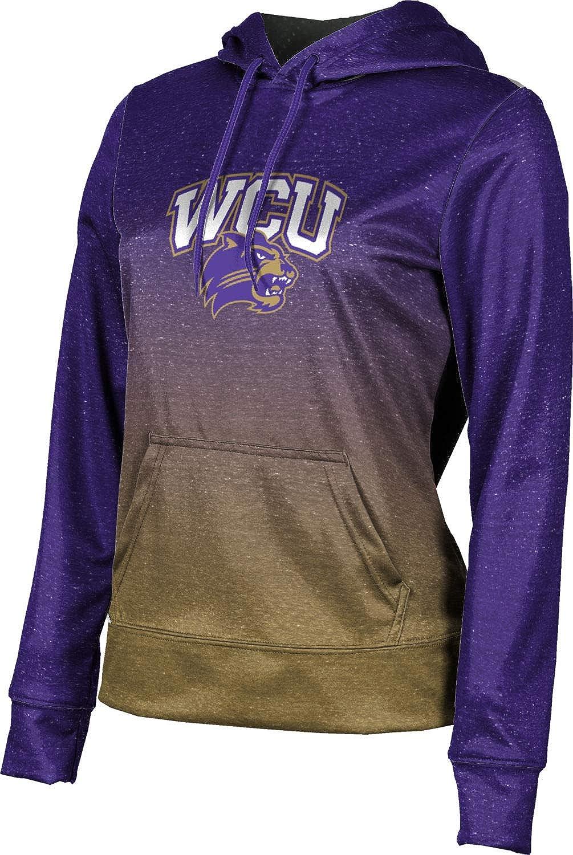Western Carolina University Girls' Pullover Hoodie, School Spirit Sweatshirt (Ombre)