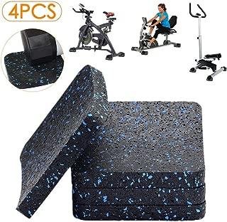 BestXD Treadmill Mat, Exercise Equipment Mat with High Density Rubber (3.94 X 3.94 X 0.5 inch)
