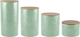 sage green canister sets
