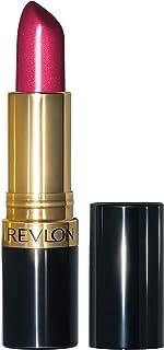 Revlon Super Lustrous Lipstick, High Impact Lipcolor with Moisturizing Creamy Formula, Infused with Vitamin E and Avocado Oil in Pink Pearl, Fuchsia Fusion (657)