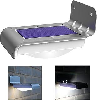 16 LED Solar Garden Security lamp Motion Sensor led Light Power Waterproof Outdoor