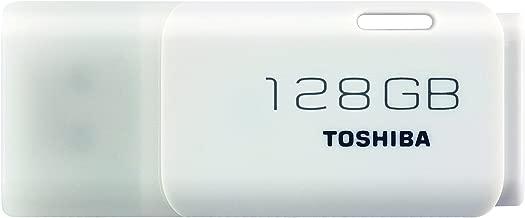 Toshiba Hayabusa Pendrive 128 GB, Chiavetta USB 2.0, 18 Mb/s, Bianco