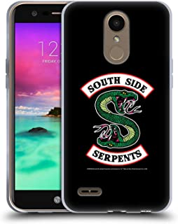 Official Riverdale South Side Serpents Graphic Art Soft Gel Case Compatible for LG K10 (2017) / K20 Plus