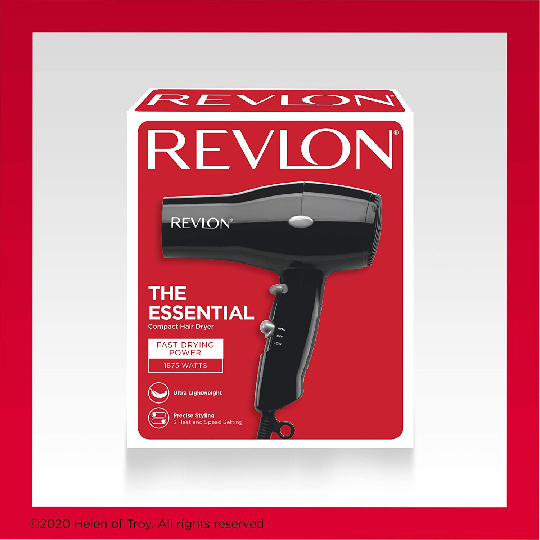 Revlon: Lightweight + Compact Travel Hair Dryer! .34 at Amazon!