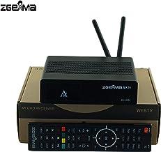 ZGEMMA H9.2S genuino con 2 sintonizadores múltiples DVB-S2X 4K UHD 2160p Twin Sintonizador receptor de satélite WIFI integrado