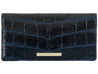 Brahmin Veil Ady Wallet (Bluebonnet) Wristlet Handbags