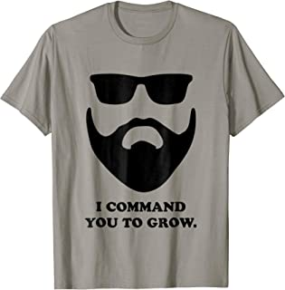 i command you to grow t shirt