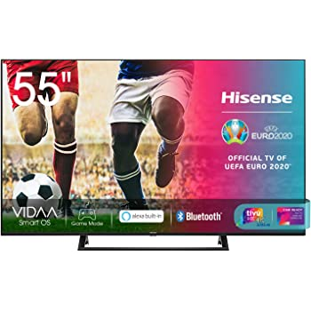 "Hisense 55AE7210F, Smart TV LED Ultra HD 4K 55"", Single Stand, HDR 10+, Dolby DTS, Alexa integrata, Tuner DVB-T2/S2 HEVC Main10 [Esclusiva Amazon - 2020]"