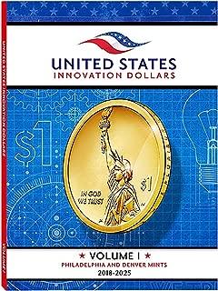 1-2018 - 2025 American Innovation Dollars Full Color Folder - Holds 22 Coins -