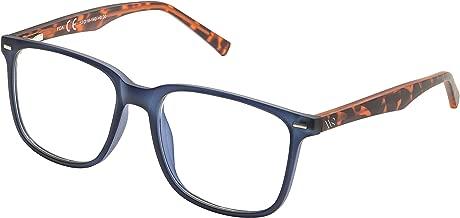 Blue Light Blocking Glasses,Cut UV400 Transparent Lens,Computer Reading Glasses,Anti Eyestrain/Anti Scratch/Anti Smudgy,Sleep Better for Women/Men (Blue, 2.75)