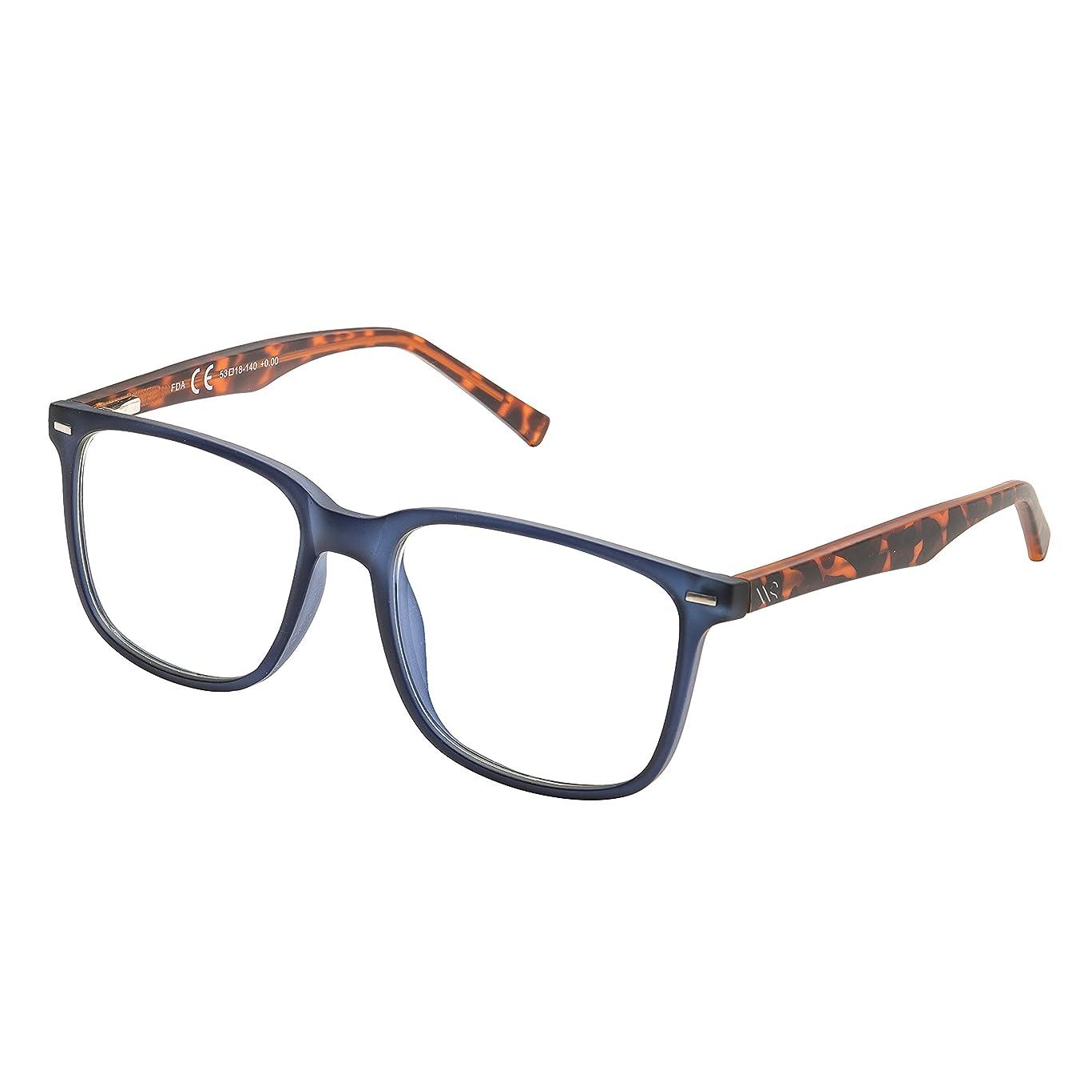 Blue Light Blocking Glasses,Cut UV400 Transparent Lens,Computer Reading Glasses,Anti Eyestrain/Anti Scratch/Anti Smudgy,Sleep Better for Women/Men (Bl