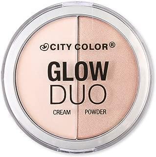 City Color Cosmetics Glow Duo Cream + Powder Palette Highlight