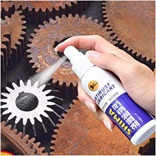 Car Rust Remover Anti-Rust Lubricant for Metal Surface Chrome Paint Maintenance Iron Powder Cleaning Paint Care Apply to Aluminum Stainless Steel Lamp Restore Luster (White)