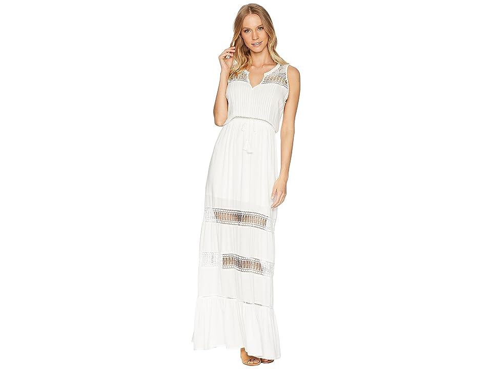 BB Dakota Ranae Lace Detailed Maxi Dress (Ivory) Women