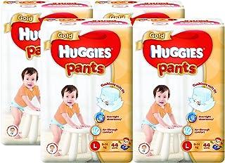 Huggies Gold Large Pants, Carton, 44ct (Pack of 4)