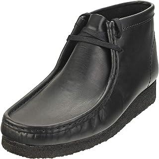 Clarks Originals Homme Wallabee Boot Cuir Black Bottes 46 EU