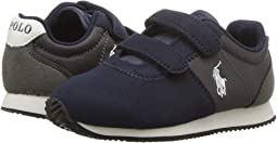 Navy/Charcoal Microsuede