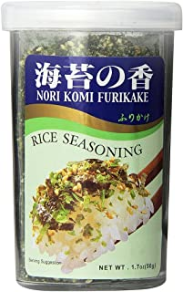 JFC - Nori Komi Furikake (Rice Seasoning) 1.7 Ounce Jar (pack of 3)