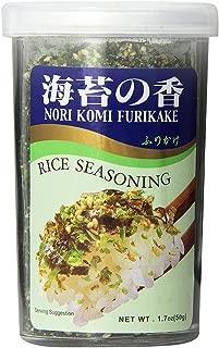 JFC - Nori Komi Furikake (Rice Seasoning) 1.7 Ounce Jar (pack of 3)