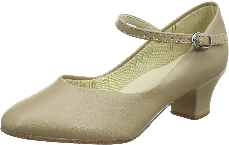 So Danca CH50 1.5'' Heel Character shoes Tan