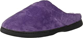 Dearfoams 女士丝绒洞洞鞋