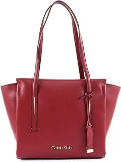 7ea988c219 Calvin Klein Frame Shopper Bag for Women - Mixed, Red Rock (CK-K60K604596