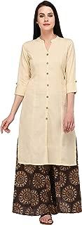 Pistaa's Women Cotton Flex Princes Cut Salwar suits Set