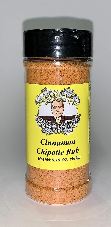 Memphis Mall Todd Bosley's World Famous Rub Cinnamon Chipotle Super intense SALE