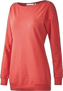 d76734b3d7adb8 Regna X Long Sleeve Loose Casual Pullover Cute Tunics Sweatshirts for Women  (S-3x