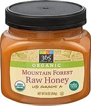 365 Everyday Value, Organic US Grade A Mountain Forest Honey, Raw, 16 oz
