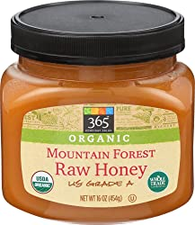 365 Everyday Value, Organic US Grade A Mountain Forest Honey, Raw, 16 oz