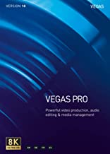 VEGAS Pro 18 – Video Production, Audio Editing and Media Management [PC Download]