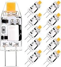 G4 LED Lampen 1.5W 150LM, Vervangt 10W 15W Halogeen Lamp, Warm Wit 2700K 12V AC/DC G4 LED Lampen, Niet Dimbaar G4 Pin Base...