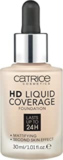 Catrice HD Liquid Coverage Foundation - 010 Light Beige, 30 ml
