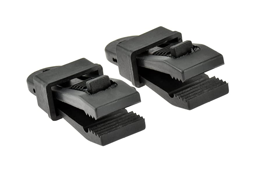 SE 9615RB-CLAMP Black Awning/Tarp Clamps (2-Pack)