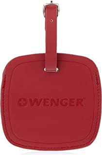 Wenger 604541 Jumbo Luggage Tag, Black, Red, 11 Centimeters
