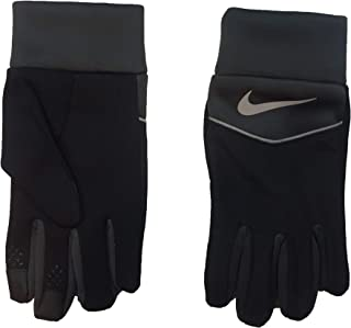Nike Boy`s Therma-Fit Touch Screen Gloves (Black(9A2680-716)/Anthracite, 8/20)