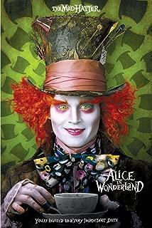 Alice in Wonderland, Mad Hatter Movie Poster 24in x 36in