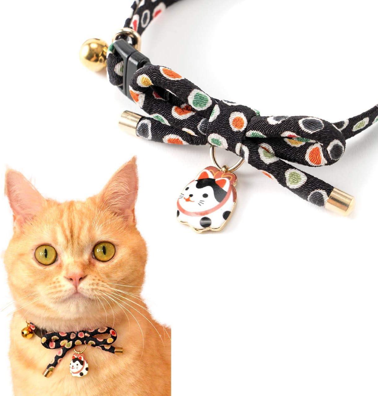 Super special price NECOICHI Zen Hariko Charm Cat Milwaukee Mall Collar