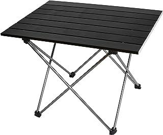 MARCHWAY アウトドアテーブル キャンプ ロールテーブル アルミ製 超軽量 コンパクト 折りたたみ ピクニック レジャー パーティー 耐荷重30kg