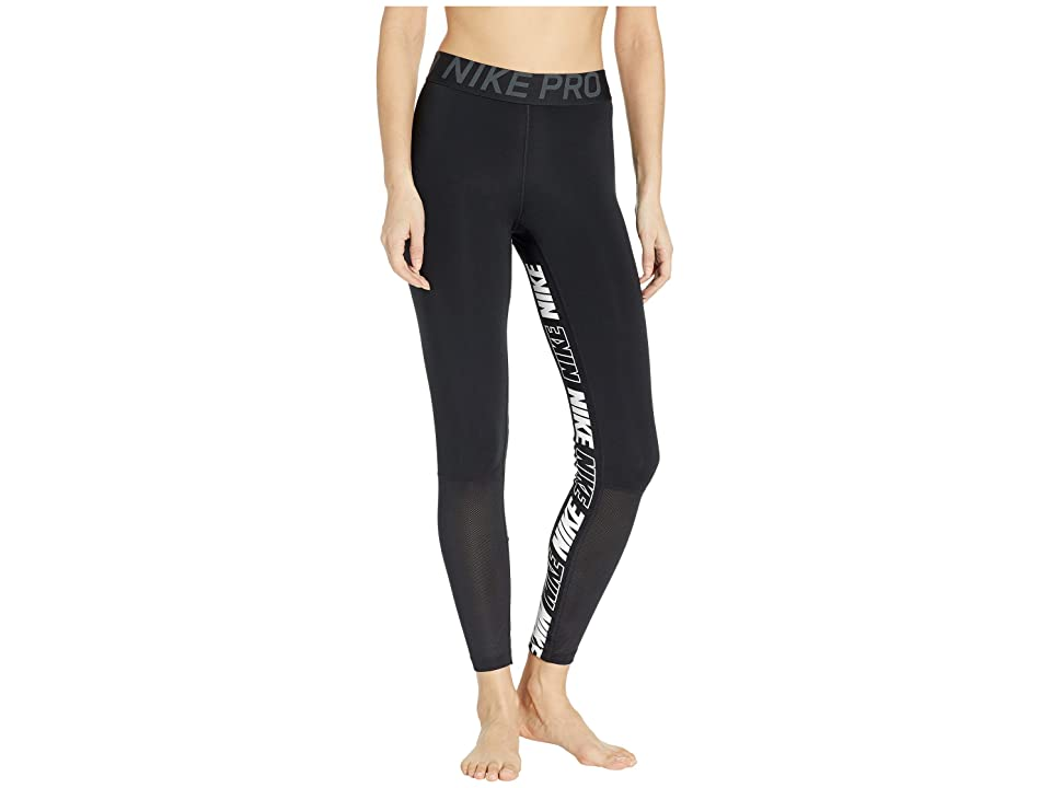 Nike Pro Sport Distort Tights (Black/Black/Anthracite/White) Women
