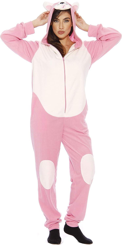Just Love Pink Pug Onesie Pajamas Adult Animer and price revision Weekly update