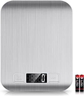 Mumoo Bear Food Scale, 22lb Digital Kitchen Scale Weight Grams and Oz for Baking and Cooking, 1g/0.1oz Precise Graduation,...