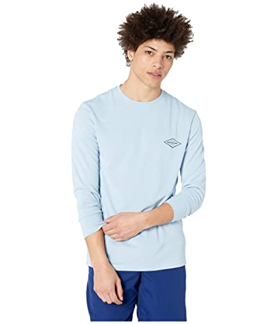 Quiksilver Waterman Gut Check Long Sleeve Rashguard (Cerulean) Men