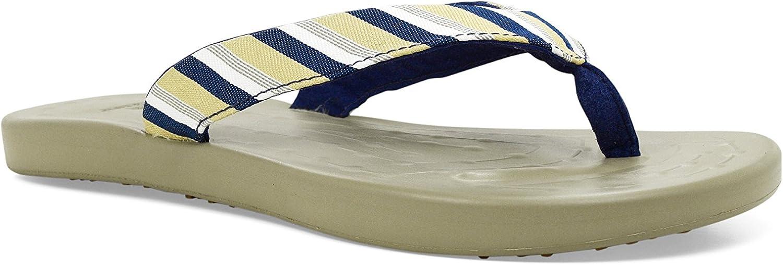 SoftScience The Waterfall Stripe Women's Flip Flops