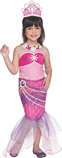 Rubies Barbie and The Pearl Princess Lumina Costume, Child Medium